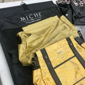 Large Miche bag with 9 shells and hanger